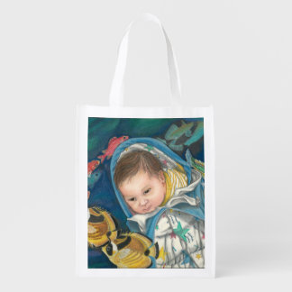 Snuggly Dreams Reusable Grocery Bag