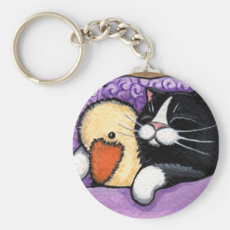 Snuggly Duck Keychain