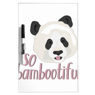 So Bambootiful Dry-Erase Board