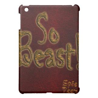So Beast iPad Case