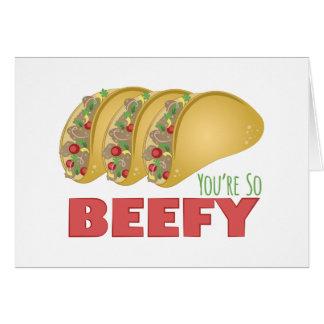 So Beefy Card