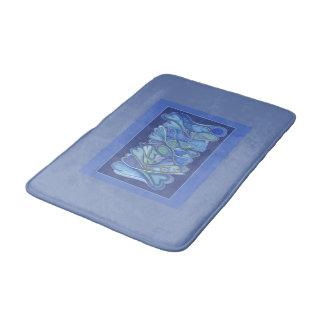 So Blue  Med. Bath Mat
