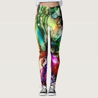 So Colorful! Vibrant colors! Sophisticated! Lively Leggings