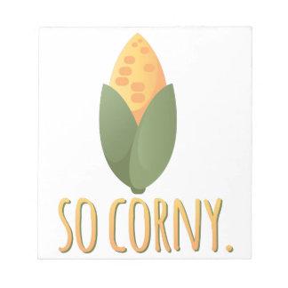 So Corny Notepads