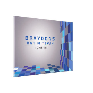 SO DIGITAL Bar Bat Mitzvah Sign In Board