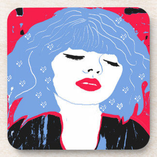 So Dreamy Hard Plastic Coasters Set