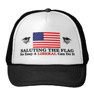 So Easy A Liberal Can Do it! Trucker Hat