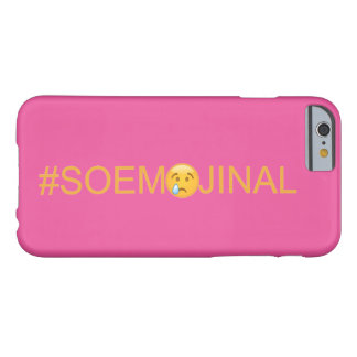 So Emojinal (So Emotional) Barely There iPhone 6 Case