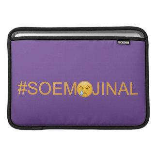 #SO EMOJINAL (so emotional) Sleeve For MacBook Air