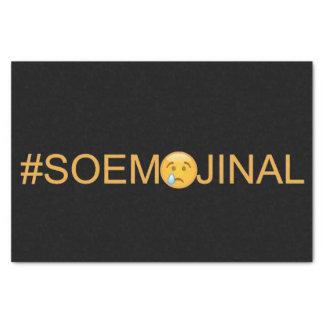 #SO EMOJINAL (so emotional) Tissue Paper