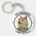 So Fashion, So Doge Key Chains