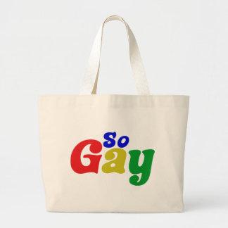So Gay Jumbo Tote Bag