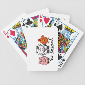 So Good - Sideways Bicycle Playing Cards