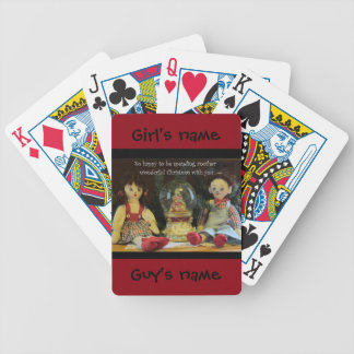 So Happy- Another Christmas with You (Customize) Bicycle Playing Cards
