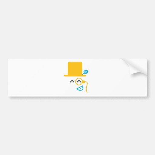 So Happy Bumper Sticker
