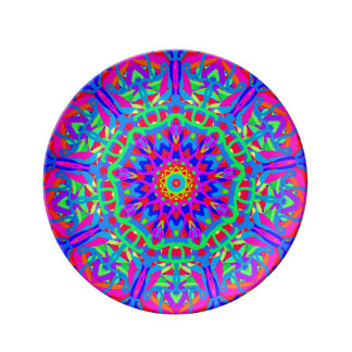 So Happy to See You Mandala Porcelain Plate