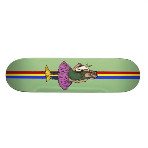 So Hip, skateboard