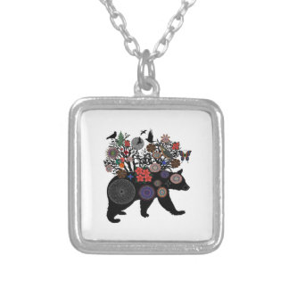 SO IS BEAR SILVER PLATED NECKLACE