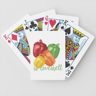 So Loveabell Bicycle Playing Cards