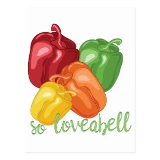 So Loveabell Postcard