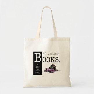 So Many Books Bag