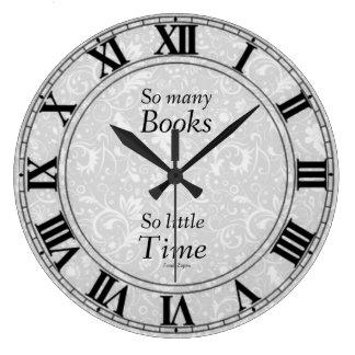 So Many Books Clock