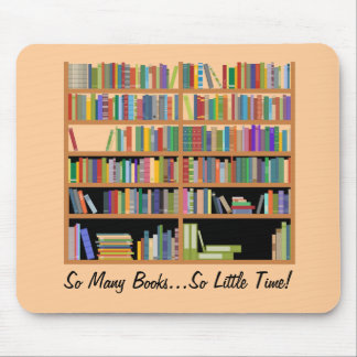 So Many Books (customizable) Mouse Pad
