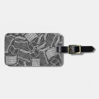 So Many Books Luggage Tag