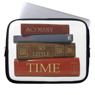 So Many Books So Little Time Notebook Sleeve