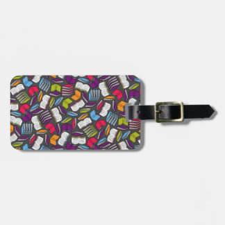 So Many Colorful Books... Luggage Tag