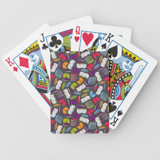 So Many Colorful Books... Poker Deck