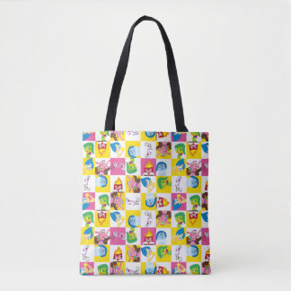 So Many Emotions Pattern Tote Bag