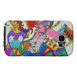 So many faces on this phone! Amazing! Samsung Galaxy S6 Cases