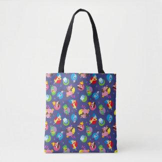 So Many Feelings Pattern Tote Bag