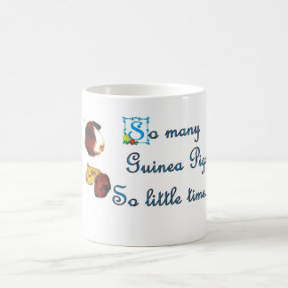 So many Guinea Pigs , so little time mug