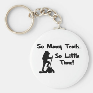 So Many Trails... Basic Round Button Keychain