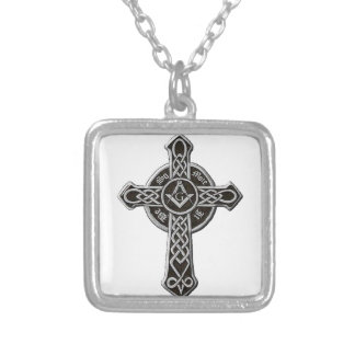 So Mote It Be Silver Plated Necklace