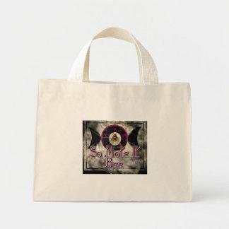 so mote it bee mini tote bag