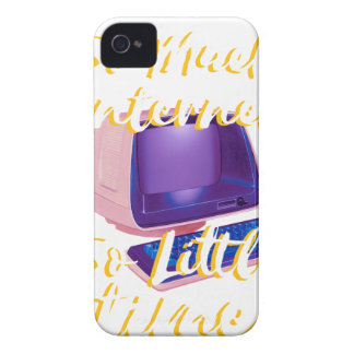 So Much Internet So Little Time iPhone 4 Case-Mate Case
