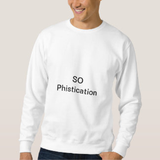 So Phistication Spain Sweatshirt