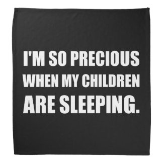 So Precious Children Sleeping Head Kerchiefs