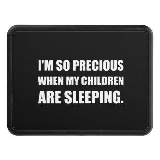 So Precious Children Sleeping Trailer Hitch Cover