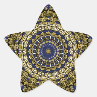 So Regal Kaleidoscope Star Sticker