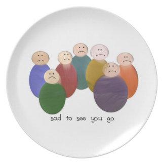 So Sad Plate