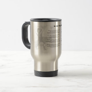 So Said They of Looms Poem Travel Mug