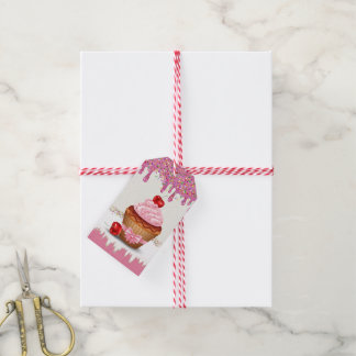 So Sweet Cupcake Personal or Business Gift Tags Pack Of Gift Tags