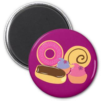 So Sweet Desserts 2 Inch Round Magnet