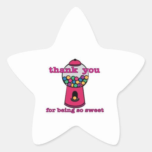 So Sweet Star Sticker