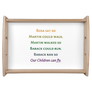 So ur Children Can Fly Serving Tray