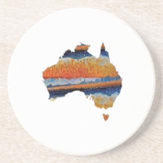 SO VAST AUSTRALIA BEVERAGE COASTERS
